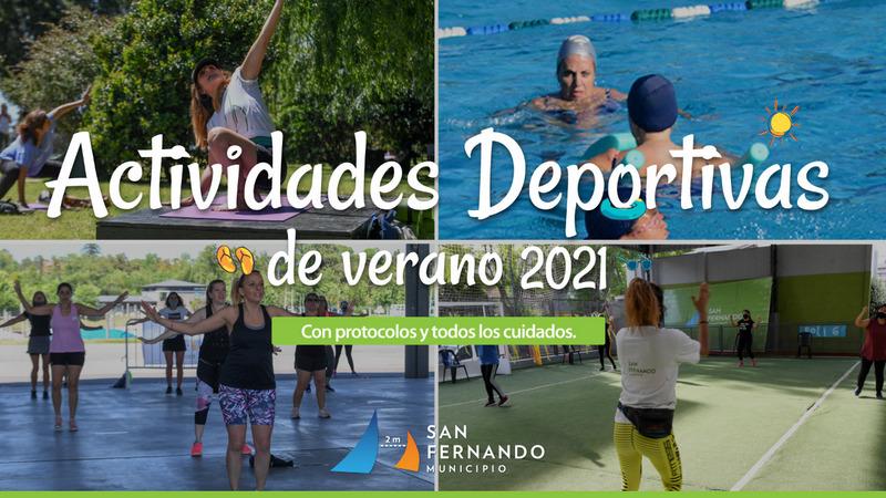 Comenzó la inscripción online para las actividades deportivas del verano en San Fernando, con todos los cuidados