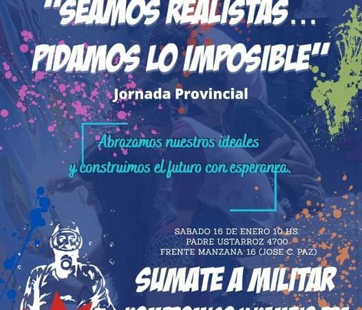 Jornada Provincial de Kompromiso y Kambio en José C. Paz