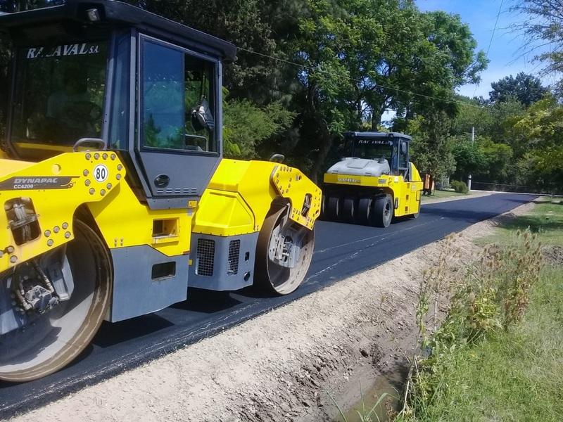 La Municipalidad continúa con las obras de pavimentación, estabilizado y bacheo en Maquinista Savio, Matheu, Belén de Escobar e Ingeniero Maschwitz