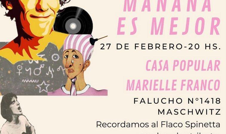 """""""Mañana es mejor"""", se viene la segunda edición del festival que homenajea a Spinetta."""