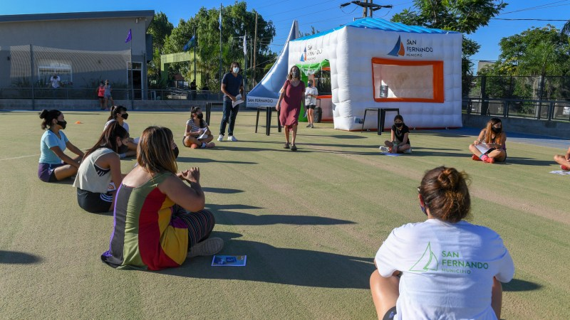 Se iniciaron talleres sobre Género en los Polideportivos de San Fernando