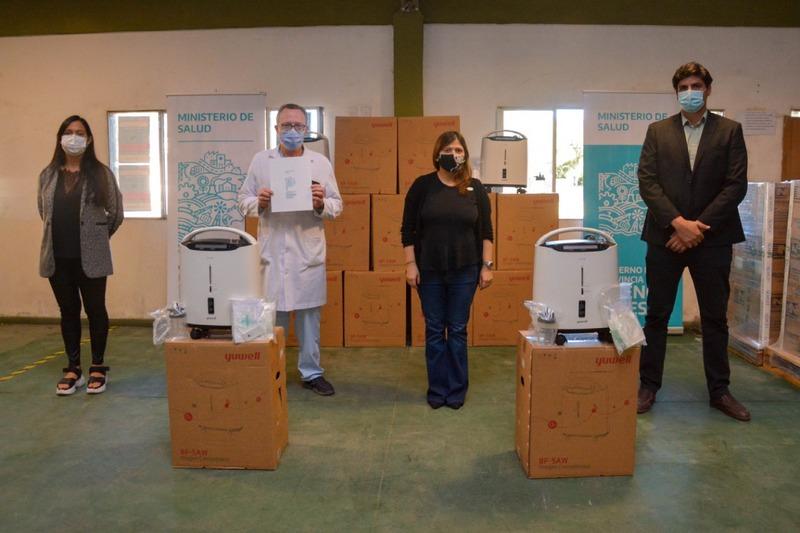 La Provincia distribuyó 300 concentradores de Oxígeno en Hospitales , UPAs y Centros Extrahospitalarios