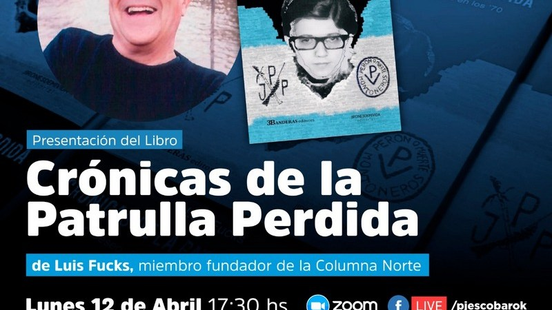 """Escobar, presentación del libro """"Crónicas de la Patrulla Perdida""""."""