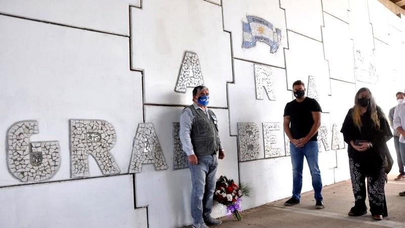 Exaltación de la Cruz, se brindó un sentido homenaje a los Héroes del Crucero General Belgrano