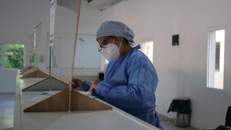 Exaltación de la Cruz, cumple un año la Guardia Covid del Hospital San José