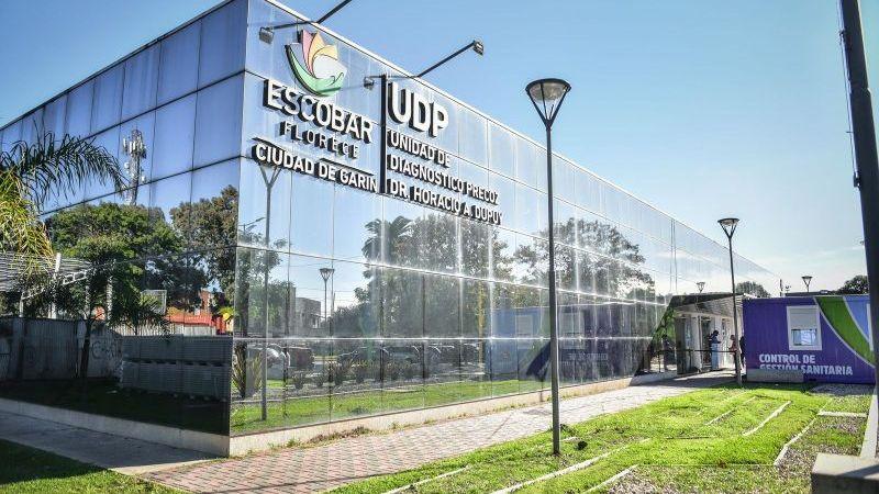 Covid-19,  la Municipalidad de Escobar avanza con la obra de ampliación de la UDP Garín para incorporar 36 nuevas camas de internación