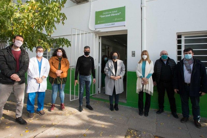 Zabaleta y Vizzotti reinauguraron un centro de salud en William Morris