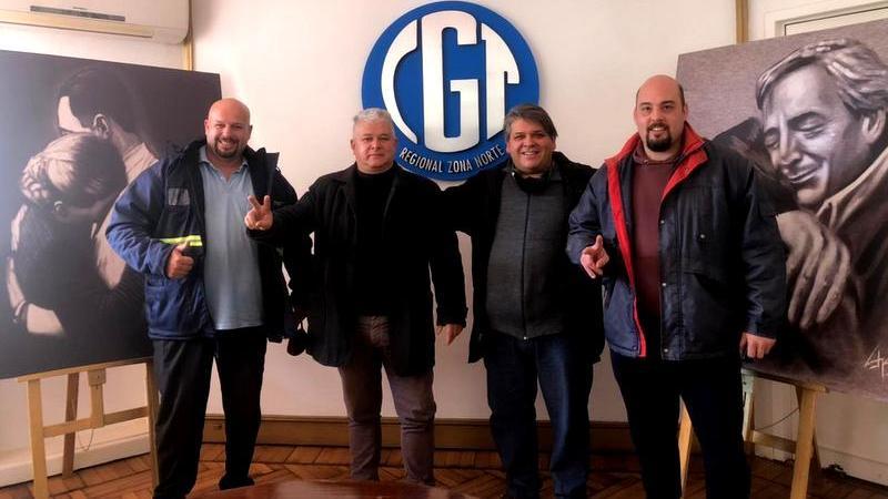"""Fabián """"Gurí"""" González: """" Estamos acompañando a los Trabajadores Portuarios en Defensa de la fuente de Trabajo"""""""
