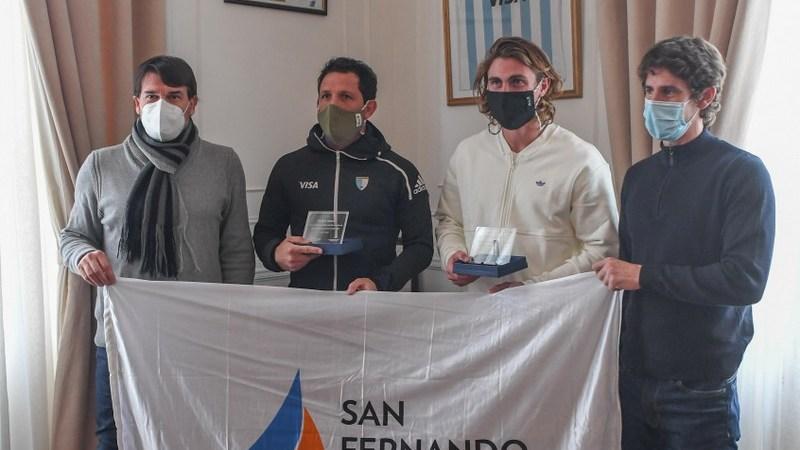 Juan Andreotti despidió a deportistas sanfernandinos que competirán en los Juegos Olímpicos de Tokio