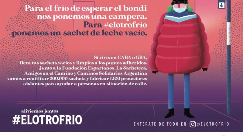 #ElOtroFrio, campaña solidaria para ayudar a personas en situación de calle
