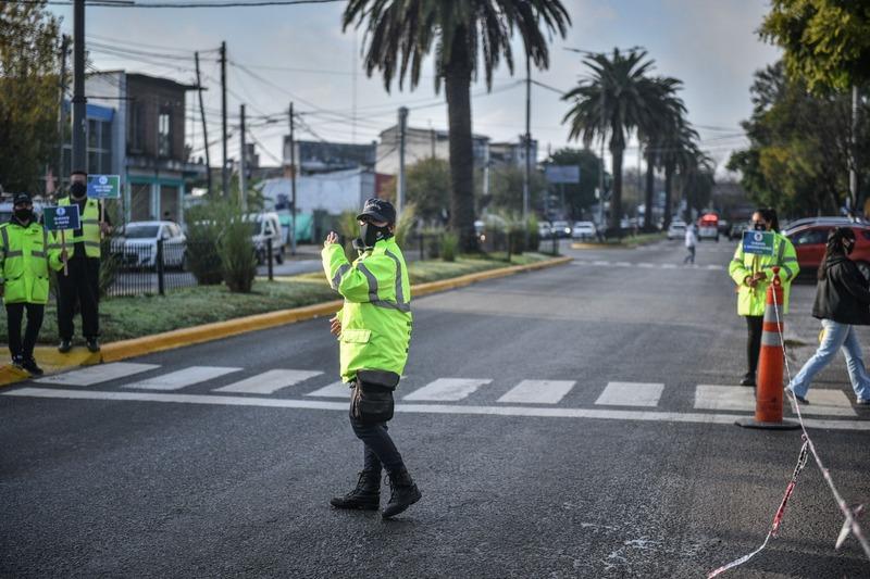 Seguridad Vial: la Municipalidad de Escobar realizó una jornada de concientización en distintos puntos del distrito