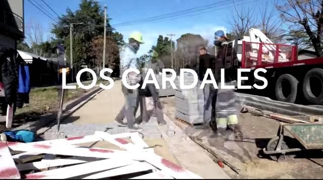 Los Cardales, así avanza la Avenida Belgrano
