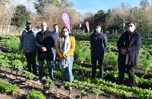 La Huerta Municipal de Ingeniero Maschwitz recibió su certificado de producción agroecológica