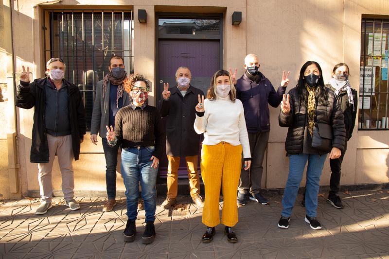 Somos Barrios de Pie y ATE Zona Norte apoyan la candidatura de Érica Pereyra a concejala de Vicente López