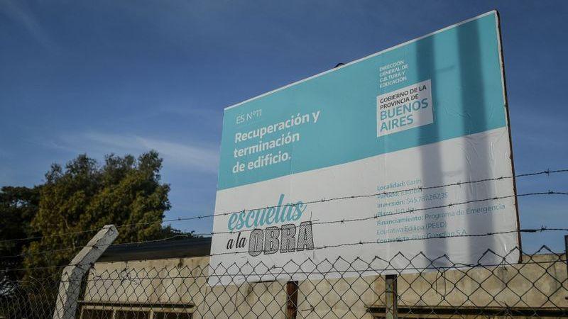En articulación con la provincia de Buenos Aires, la Municipalidad de Escobar comenzó con la obra para finalizar la Escuela Secundaria 11 Carlos Fuentealba