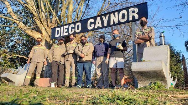 Diego Gaynor, Vecinos se sumaron a Mejorar la Estación