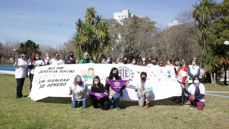 Encuentro de la regional norte de mujeres de ATE en Vicente López