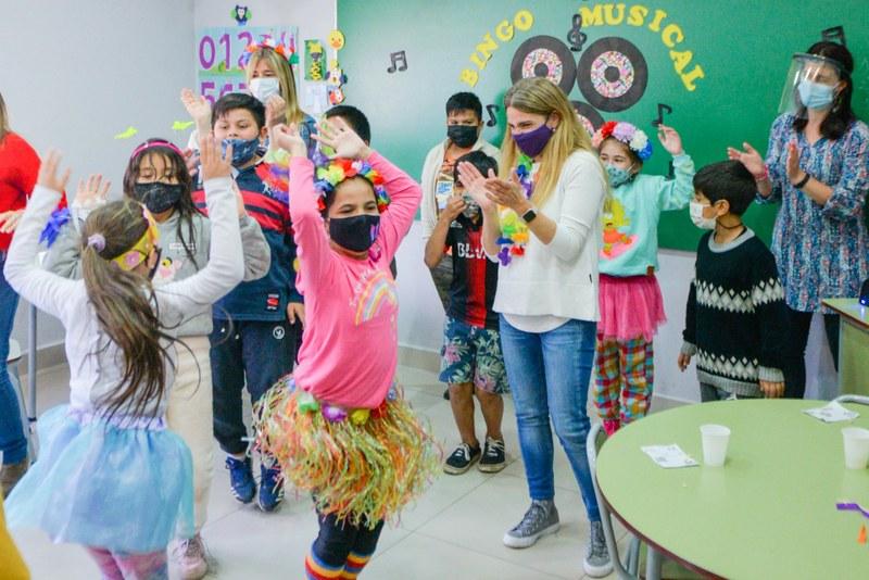 Jóvenes del programa SUMATE y Centros Educativos Municipales celebraron el Día de la Primavera