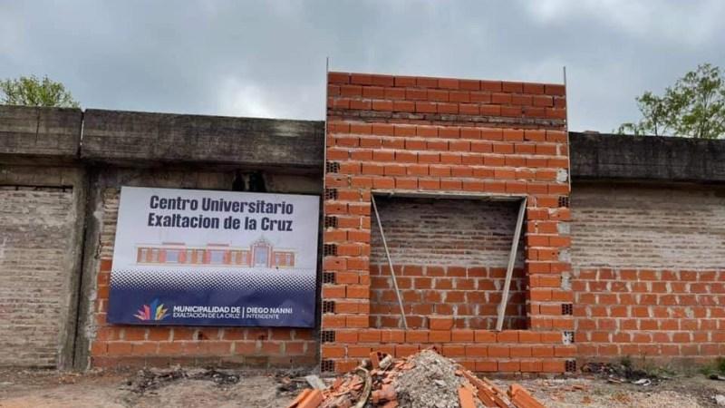 Exaltación de la Cruz, construcción del Complejo Universitario