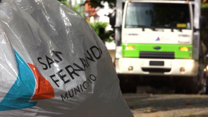 San Fernando solicita no sacar montículos y residuos domiciliarios a la calle este lunes 6 de septiembre