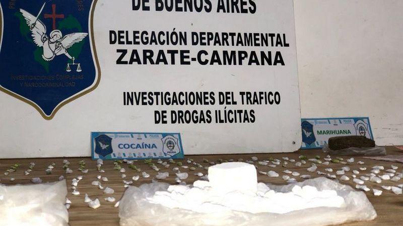 Escobar, otra banda narco desbaratada: 1,5 kilos de cocaína y un kilo de marihuana incautados tras once allanamientos
