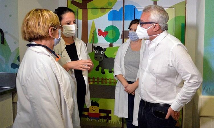 El Municipio de Tigre amplía el área de terapia intensiva pediátrica del Hospital Materno Infantil