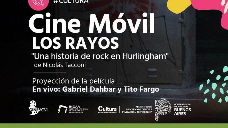 """Cine Móvil: Este viernes se proyectará el documental """"Los Rayos"""" en el Predio Municipal de Hurlingham, con entrada libre y gratuita"""