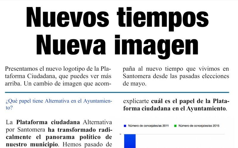Nuevo número de la Revista alternativa