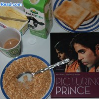 #Day16: #abookaday The Day I had Breakfast with Prince #TheFriday56 #BookBeginnings #PicturingPrince