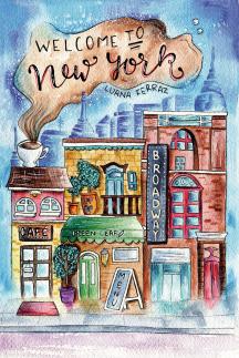 10. Welcome to New York ~ Artist/Designer : Flavia Andrioli