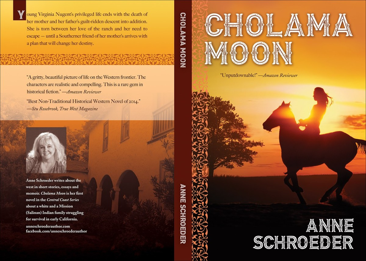 Unveiling a new cover! Cholama Moon by Anne Schroeder (Central Coast Series, #1) @anneschroeder2 #CoverReveal