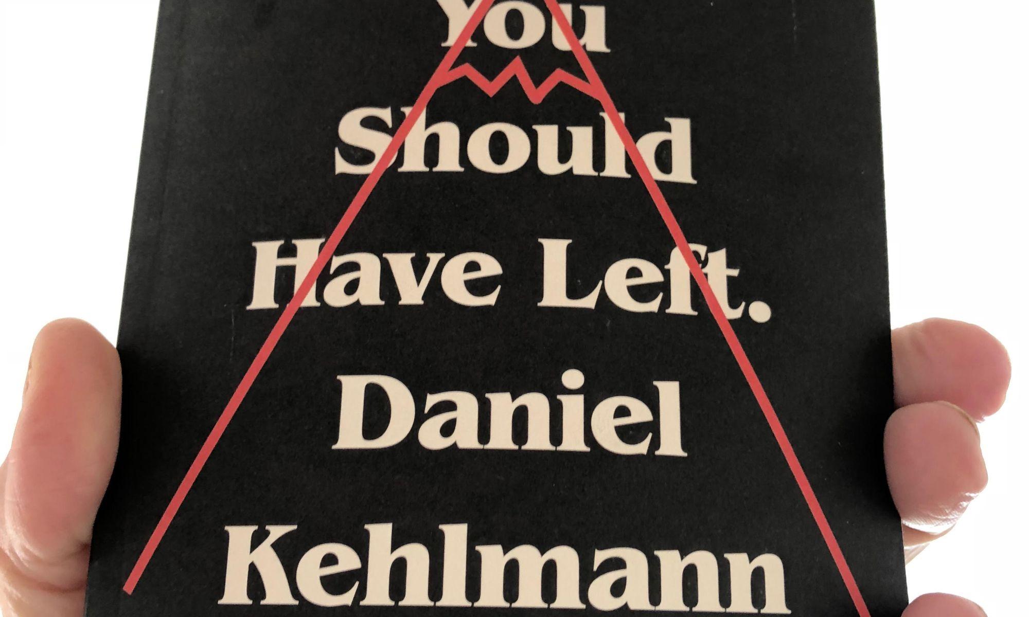 You Should Have Left. By Daniel Kehlmann | Alternative-Read.com