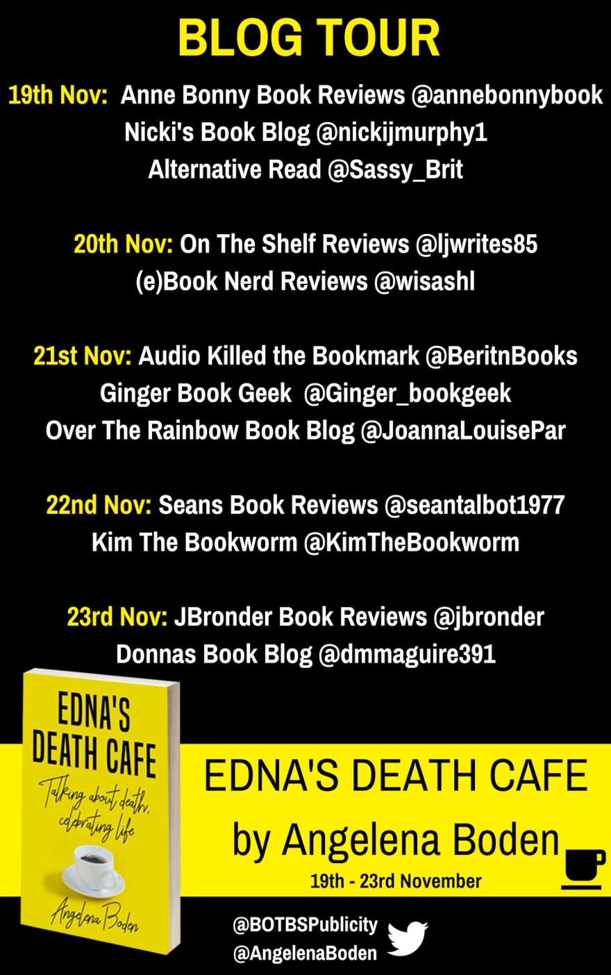 Edna's Death CafeBlog Tour