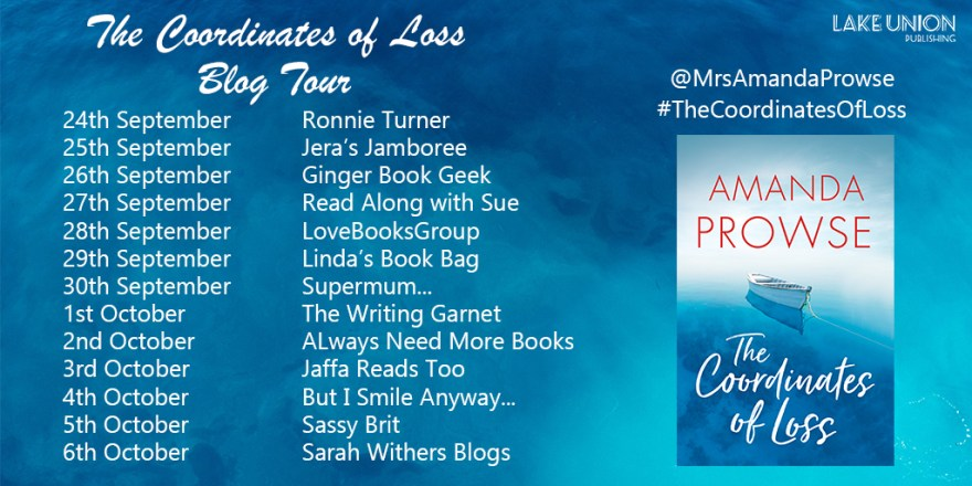 The Coordinates of Loss Blog Tour Banner