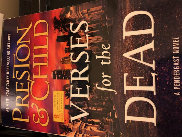 Verses for the Dead (Agent Pendergast Book 18)  by Douglas Preston and Lincoln Child on Alternative-Read.com