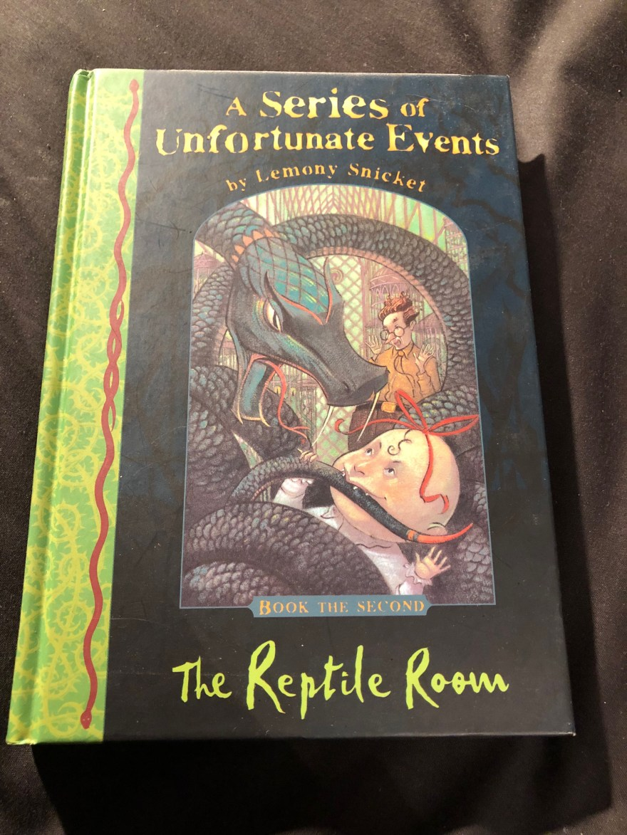 The Reptile Room (A Series of Unfortunate Events Bk 2) by Lemony Snicket | Alternative-Read.com