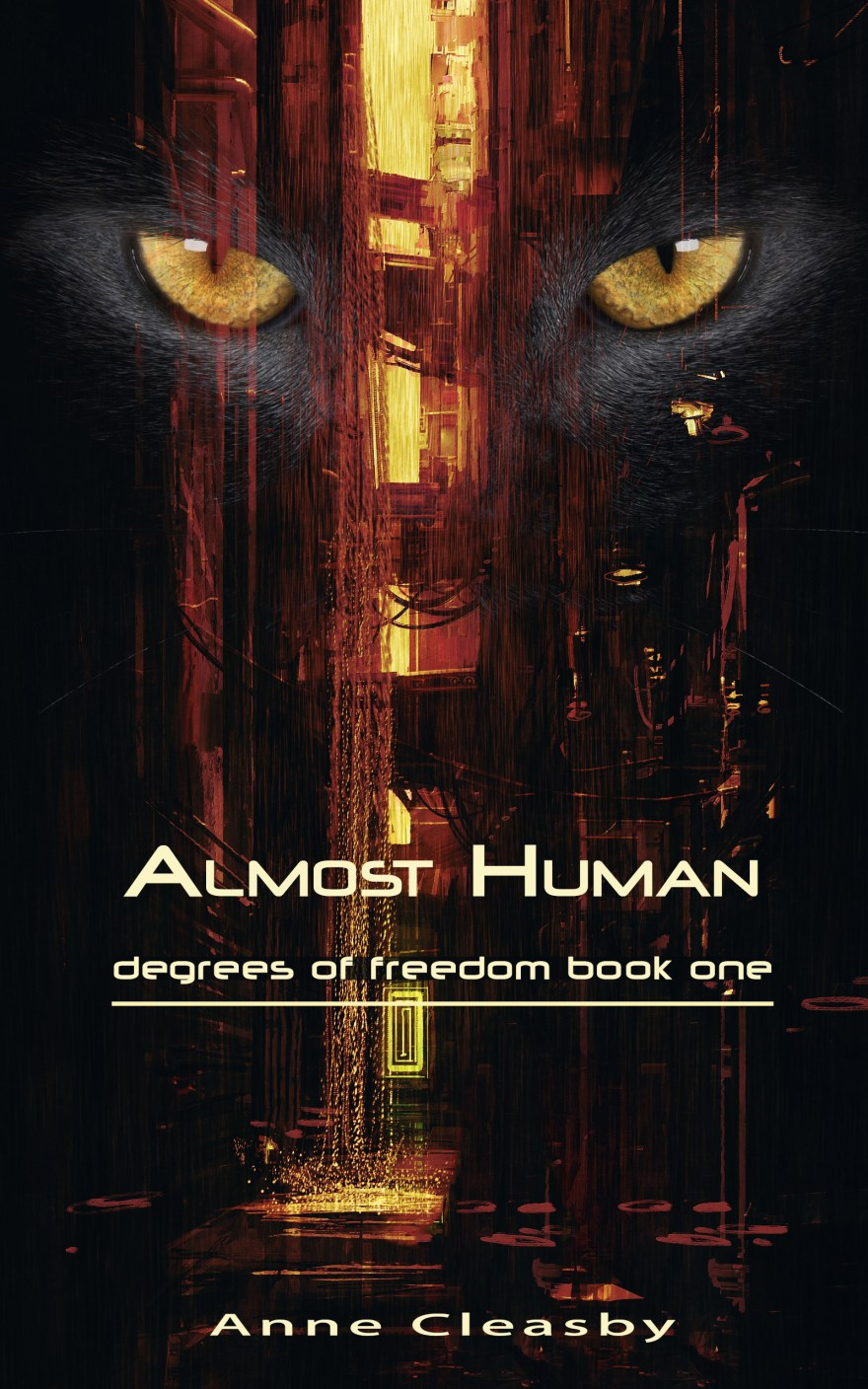 2. Almost human kindle by Anne Cleasby