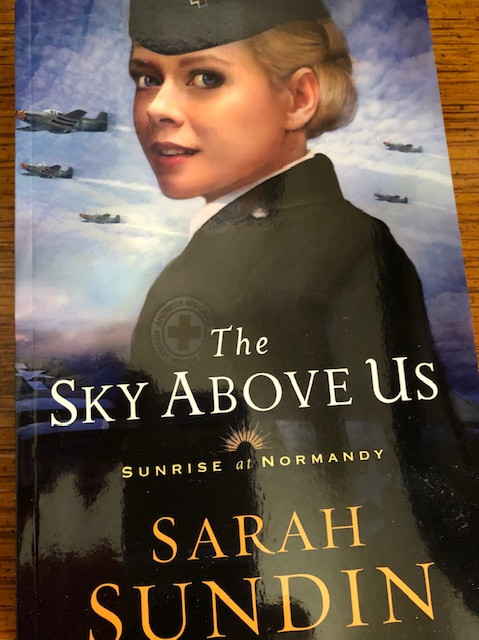 A D-Day story about friendship, love, and life choices! The Sky Above Us #TalkTuesday #Interview with author Sarah Sundin @sarahsundin #TeaserTuesday #TuesdayBookBlog #TuesdayThoughts
