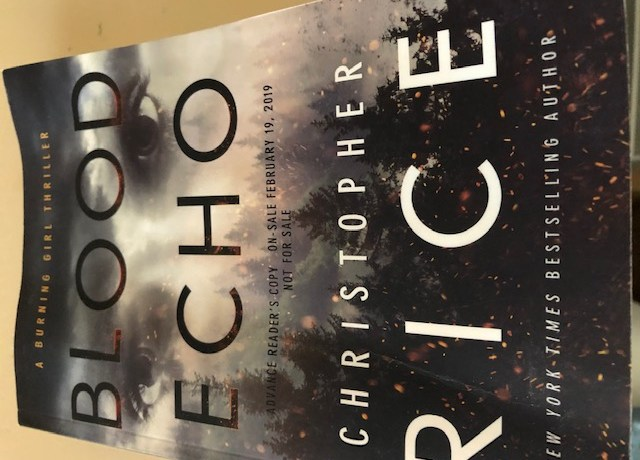Blood Echo by Christopher Rice (A Burning Girl Thriller) | Alternative-Read.com
