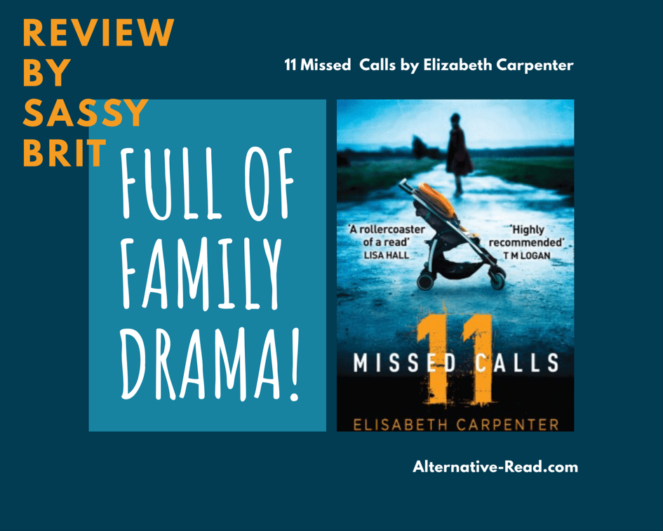 11 Missed Calls by Elizabeth Carpenter - A Sassy Brit Review