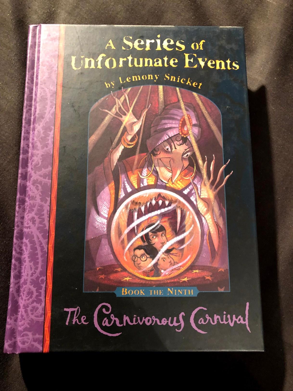 The Carnivorous Carnival by Lemony Snicket (Book 9) | Alternative-Read.com