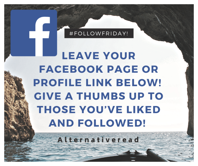 Leave your facebook page or profile link below! Give a thumbs up to those you've liked and followed!