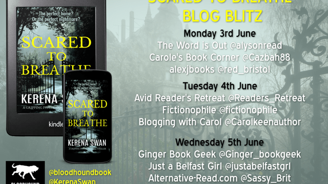 Scared to Death Blog Blitz with Kerena Swan Guest Post