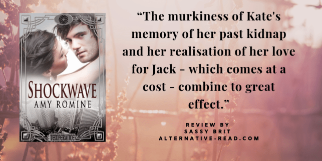 Shockwave by Amy Romine - Review by Sassy Brit