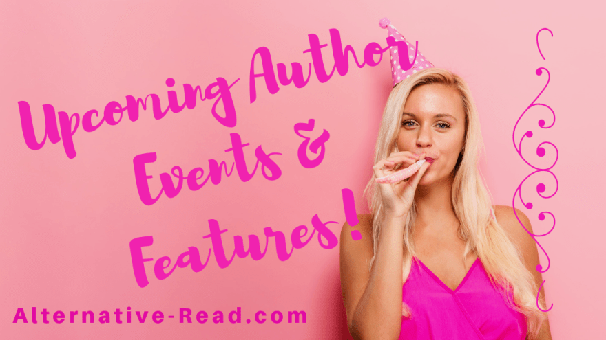 Click to see available slots for upcoming author events and features