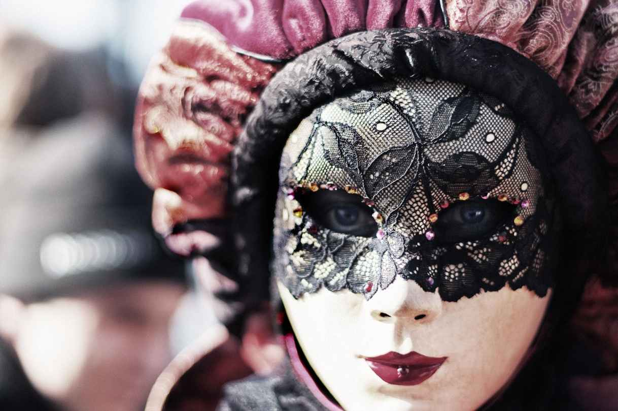 woman girl eyes blur