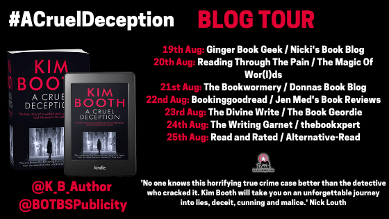 A Cruel Deception by Kim Booth - Tour