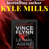 Vince Flynn's Lethal Agent by Kyle Mills harkens back to earlier Mitch Rapp books. #SaturdaySpotlight #Interview with New York Times bestselling #author Kyle Mills @KyleMillsAuthor #SaturdayShare