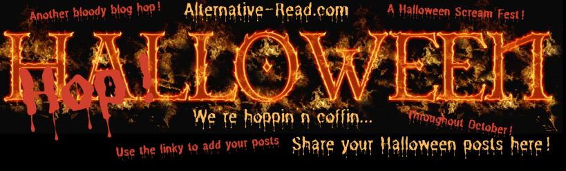 Join in with our crazy Halloween Blog Hop - yeah, it's another bloody blog hop! A Halloween Scream Fest. Share your Halloween blog posts here via this linky!