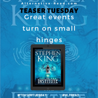 The Institute by Stephen King #TeaserTuesday #BookBeginnings